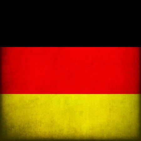 Vintage style. Grunge Flag Of Germany