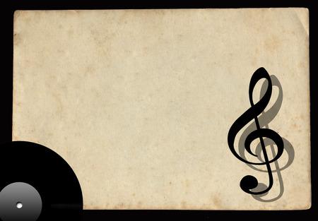 lp: Vintage musical background with vinyl LP