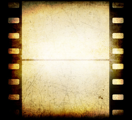 outmoded: Vintage film background. Grunge texture