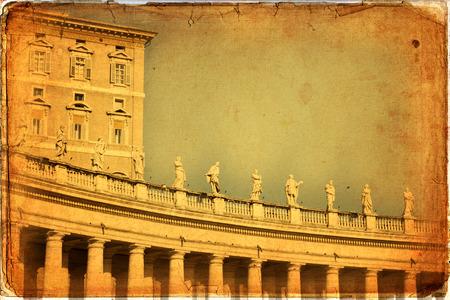 St. Peters Basilica, St. Peters Square, Vatican City. Rome