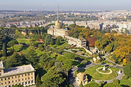 Vatican Gardens, Rome Editorial