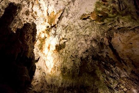 speleology: Postojna grotte in Slovenia Stock Photo