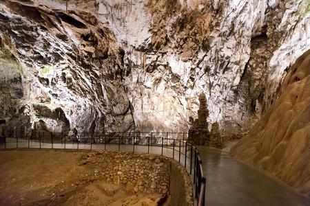 Postojna grotte in Slovenië