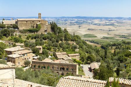valdorcia: The landscape of the Tuscany. Italy