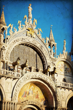 patriarchal: The Patriarchal Cathedral Basilica of Saint Mark at the Piazza San Marco  St Mark