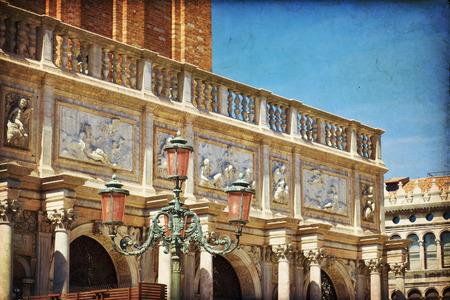 campanille: The bas-reliefs from Loggetta Sansovino - Venice