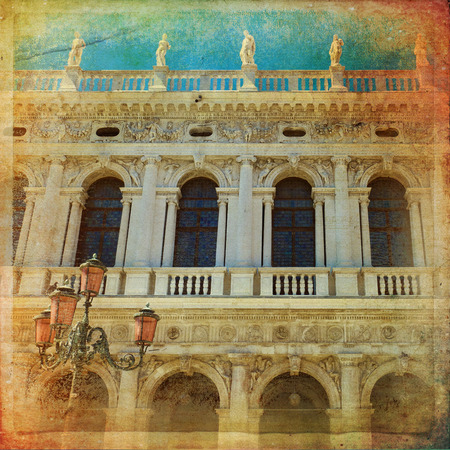 nuove: Venice - The Procuratie Nuove, on the south side of the Piazza San Marco Stock Photo