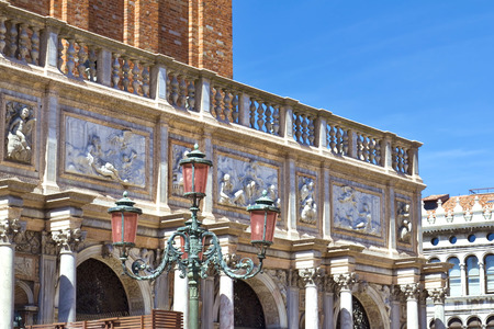 campanille: The bas-reliefs from Loggetta Sansovino - Venice