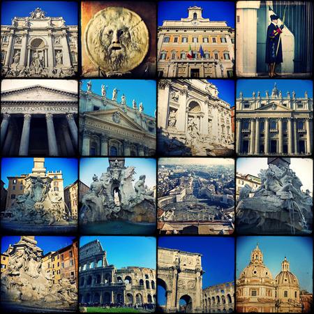 atmosfere: Collage. Bei paesaggi e atmosfere di Roma