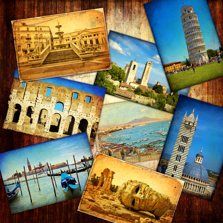Collage of Italy  photo