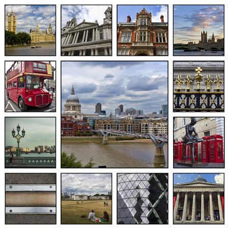 atmosfere: Collage. Bei paesaggi e atmosfere di Londra