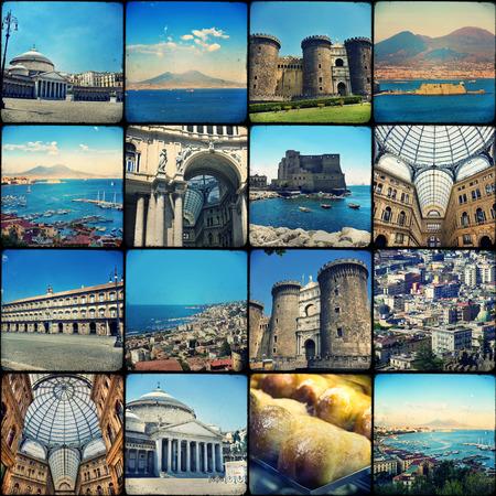 atmosfere: Collage. Bei paesaggi e atmosfere di Napoli