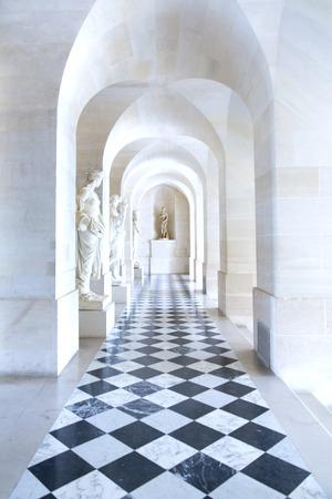 Versailles, Frankrijk - 7 augustus 2014: Interieur van het kasteel van Versailles (Kasteel van Versailles) in de buurt van Parijs op 7 augustus 2014, Frankrijk.