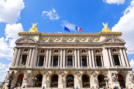 garnier: View of the Opera National de Paris Garnier, France