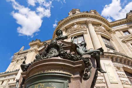 View of the Opera National de Paris Garnier, France