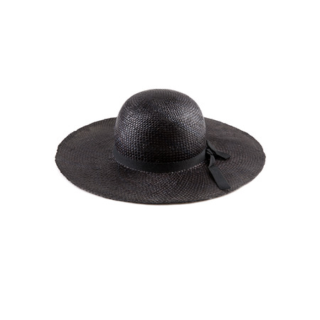 lady's: Ladys hat isolated on a white