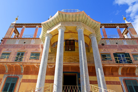 ferdinand: Palermo, Chinese building. The Chinese building of Palermo was built in 1799 commissioned by Ferdinand IV of Bourbon. The park and the palace became the property of the City and were intended for tourist visits