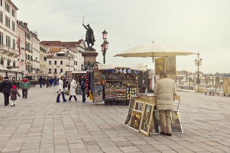 st mark: VENICE, ITALY, dicember 28, 2010: San Marco square in Venice, Italy Editorial