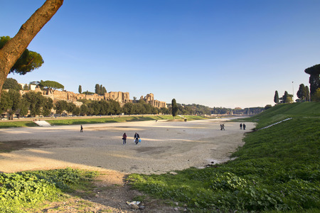 palatine: Ruins of Circus Maximus and the Domus Augustana in Rome