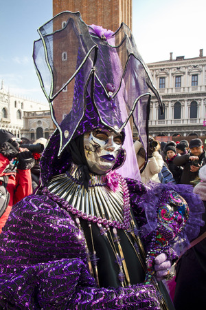 st  mark's square: Carnival of Venice, beautiful masks at St. Marks Square