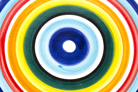 concentric: Multicolored background, color concentric Stock Photo