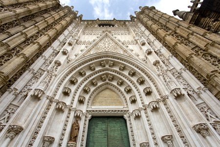The Cathedral of Saint Mary of the See in Seville, Andalusia, Spain Stock Photo