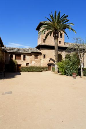 Partal Palace, Palacio de Partal, in Alhambra, Granada, Andalusia, Spain