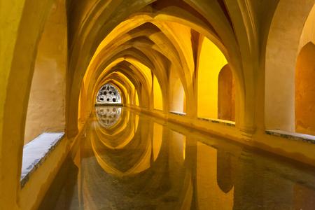 padilla: Real Alcazar in Seville. Baths of Lady Maria de Padilla