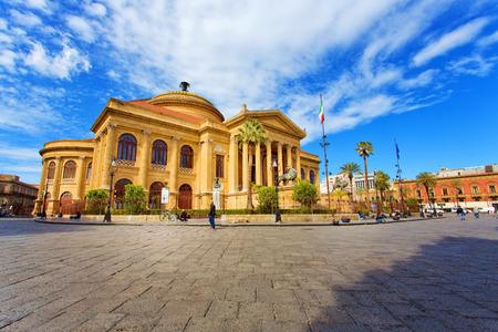 Teatro Massimo Vittorio Emanuele in Palermo, Sicily