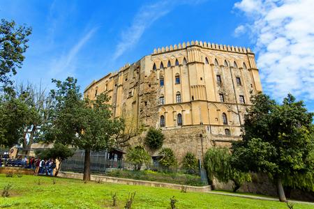 Palazzo dei Normanni a Palermo, detto anche Palazzo Reale