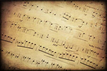 Música, partituras, fondo. La belleza de la musica