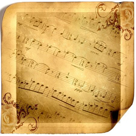 Music, sheet music, background. The beauty of music