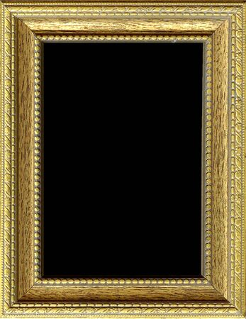 Texture, background with gilded bronze frame Stok Fotoğraf