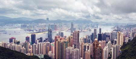 The beautiful view of Hong Hong, China