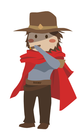 Overwatch McCree Clipart