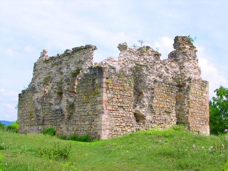 Old castle ruins Фото со стока