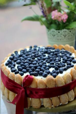 homemade cake: Homemade cake for Mother s Day