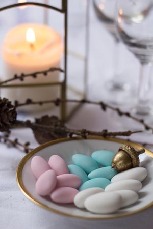 bonbonniere: jordan almonds