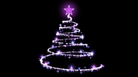 Christmas Tree Illustration Standard-Bild