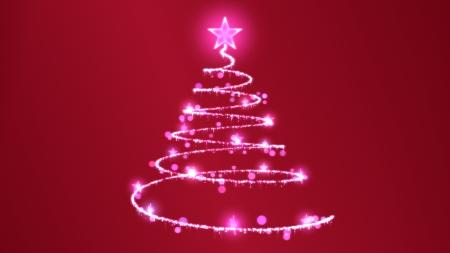 Christmas Tree Illustration Banco de Imagens
