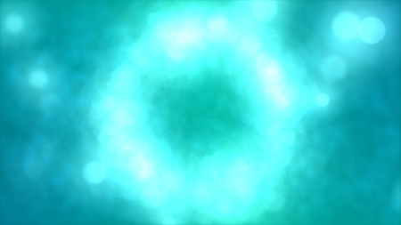 Particle Circle Background