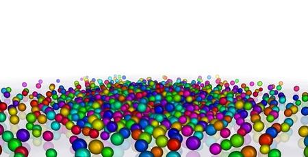 Colorful Balls Standard-Bild