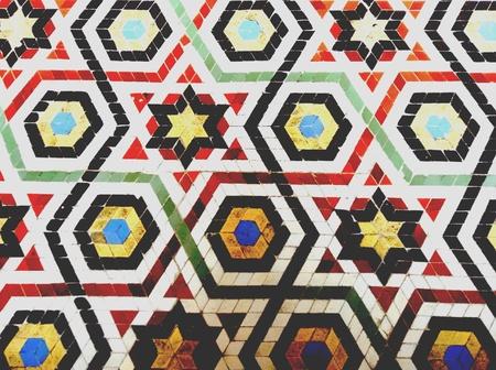 mosaic floor: Mosaic floor style