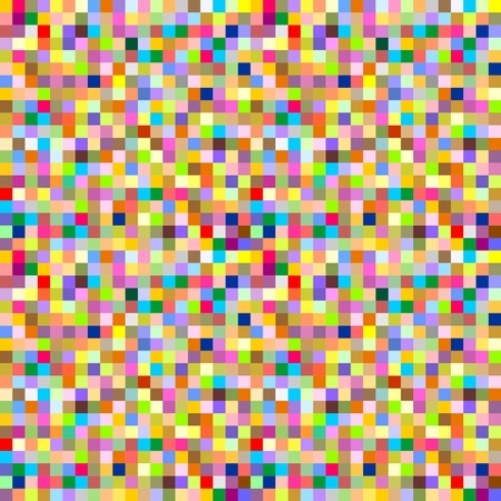 superimposed: Background from multi-colored squares superimposed side by side and below each other