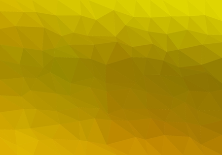 Colorful background consisting from green triangles of different colors in a row next to each other and one below the other. Pixel abstract background. Mosaic of geometric elements Stock Illustratie