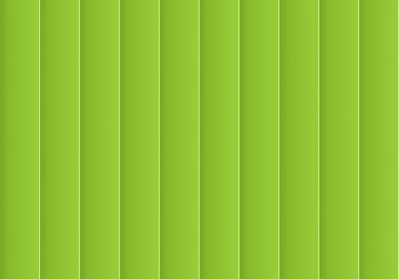 Colorful background consisting of green rectangle in a row next to each other. Mosaic of geometric elements. green vertical louver of parts
