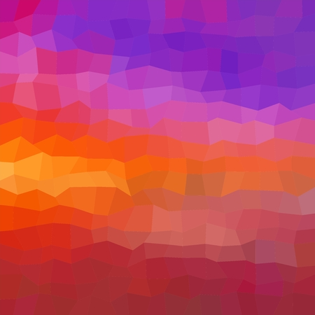Colorful background consisting of squares of different colors in a row next to each other and one below the other. Pixel abstract background. Mosaic of geometric elements