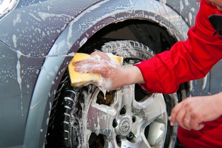 wash car: Carwash