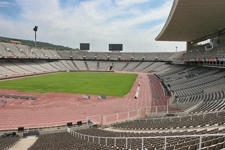 gradas estadio: Estadio Ol�mpico de Barcelona