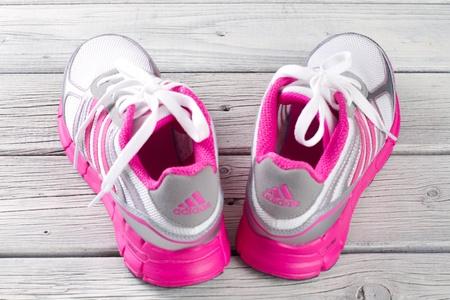 Adidas Sports Shoes Stock Photo - 12935730